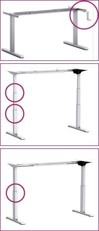 Sit-Stand-Desk-Frames