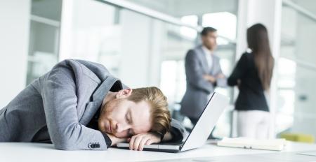 GetBritainSleepingComputerWorkerAsleep