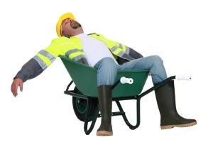 GetBritainSleepingConstructionWorkerAsleep
