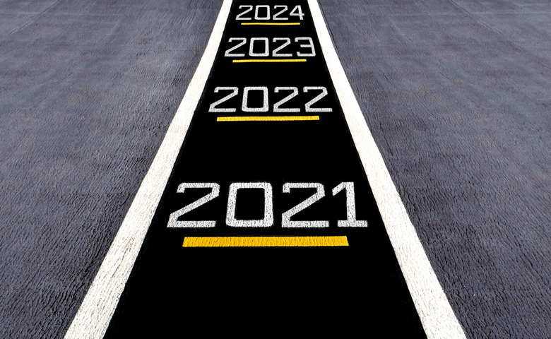 Look,Forward,And,Move,To,The,Futuer,,Start,To,New